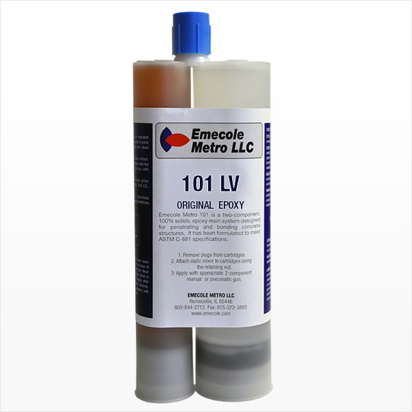 Emecole Metro 101 Foundation Crack Repair Injection Epoxy
