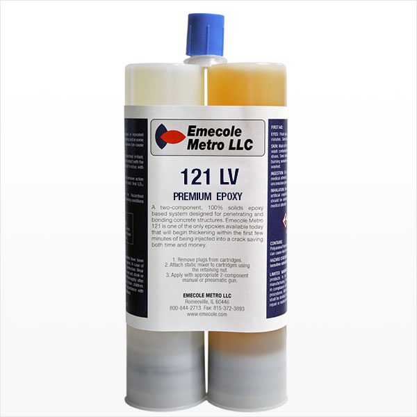 Emecole Metro 121 Foundation Crack Repair Fast Curing Epoxy