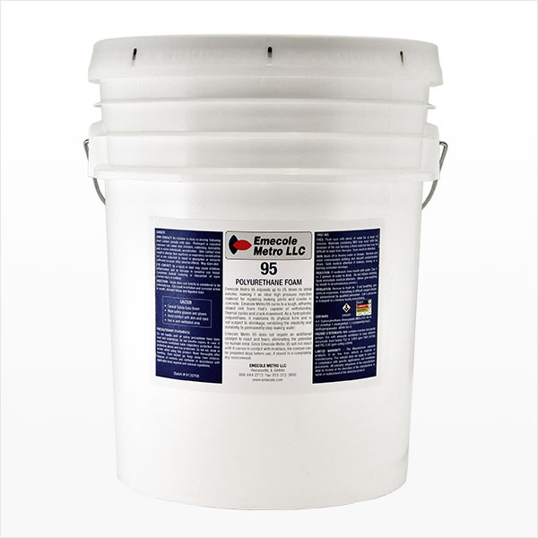 Foundation Crack Repair High Pressure Injection Polyurethane Single Component