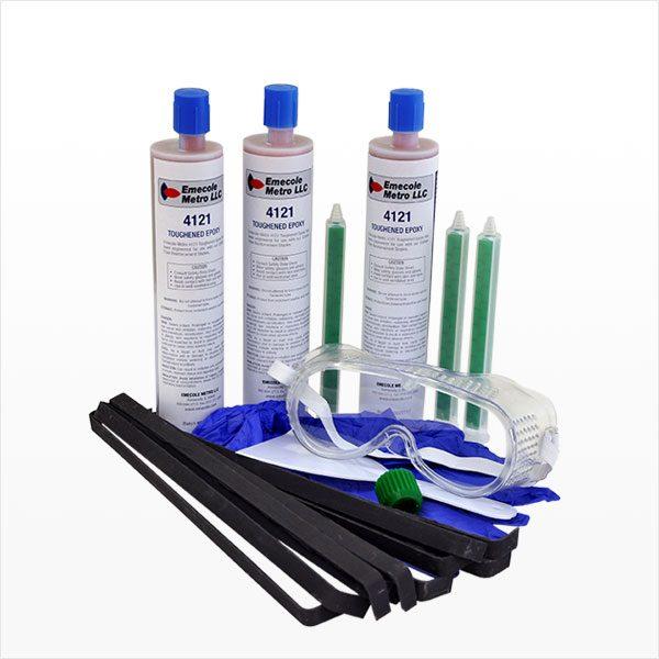 15 ft. Carbon Fiber Staple Structural Wall Crack Repair Kit