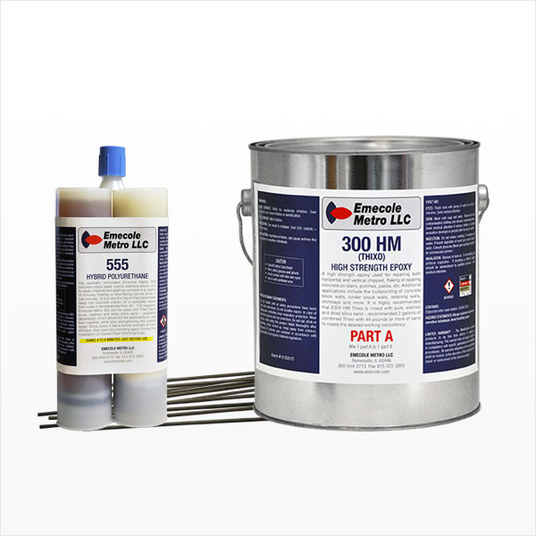 Concrete Floor & Slab Repair Products