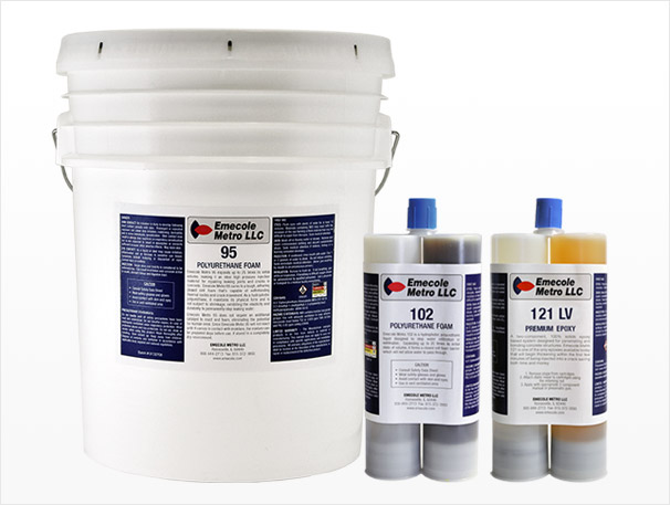 Foundation Crack Repair Injection Materials