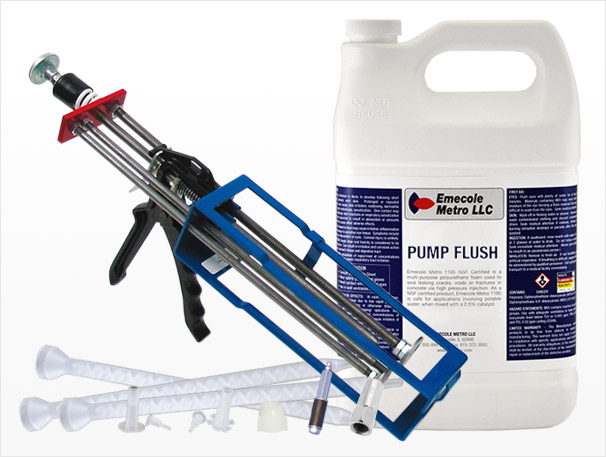 Foundation Crack Repair Injection Supplies