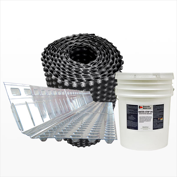 Foundation Drainage & Waterproofing Membranes
