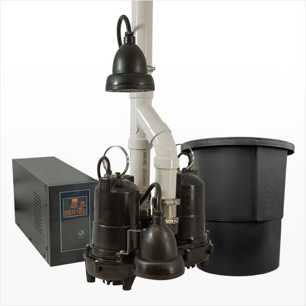 Sump Pumps & Battery Backup Systems
