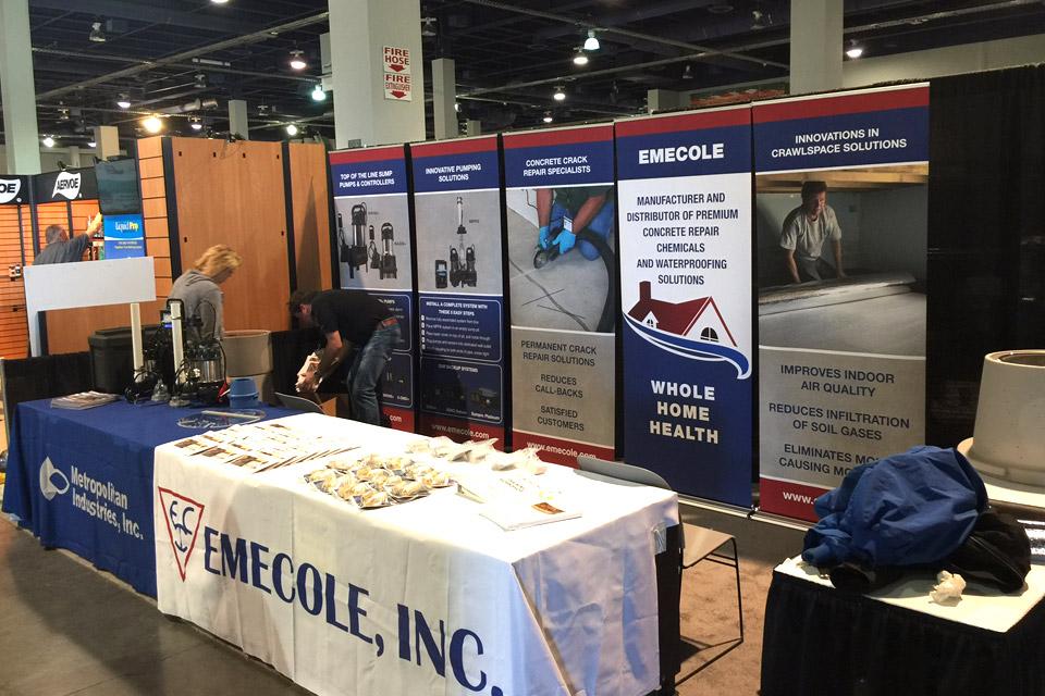 Emecole, World of Concrete 2017