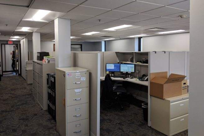 Interior, New Company Headquarters