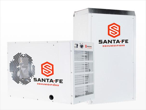 Santa-Fe Dehumidifiers for Basement Moisture Control