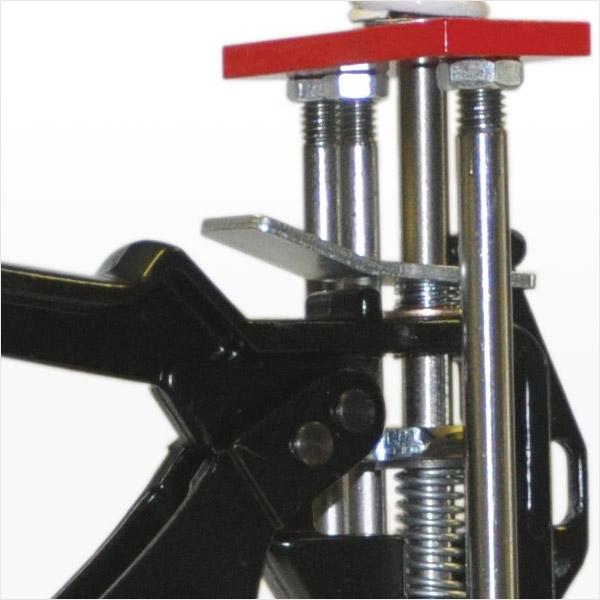 Foundation Crack Repair Dispensing Gun Four Rods In-Line