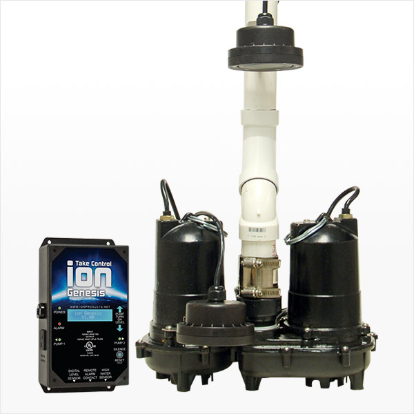Battery Backup Sump Pump System MPPII by Ion Technologies