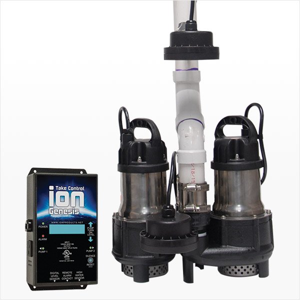 Battery Backup Sump Pump System MPPIII by Ion Technologies