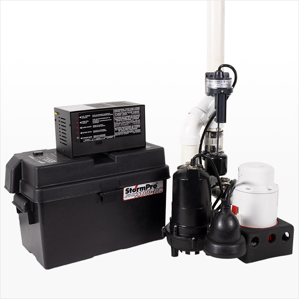 Preassembled Sump Pump System Ion Technologies JPSII Combo System