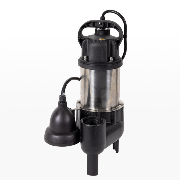 1/2 HP Ion Technologies Sewage Ejector Pump with Ion Digital Level Control Switch