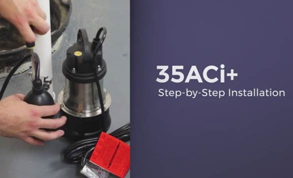 Installation Video for Ion Technologies 35ACi+ Backup Sump Pump System
