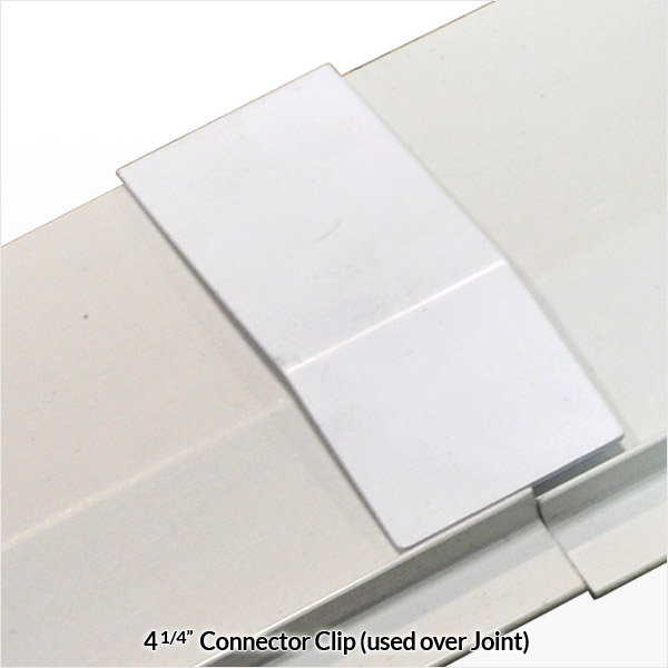 Baseboard Connector Clip