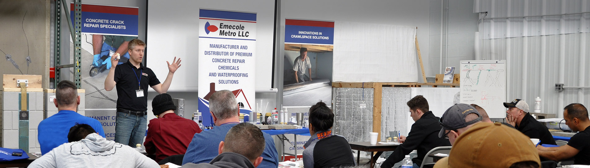 Basement Waterproofing Contractor Trainings