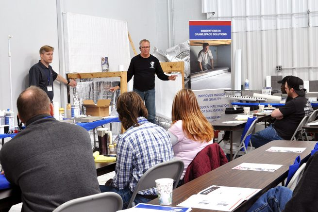 Basement Waterproofing Contractor Training Workshop, Spring 2020