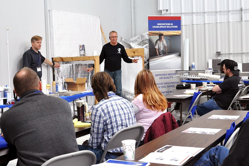 Basement Waterproofing Contractor Training Workshop, Spring 2020