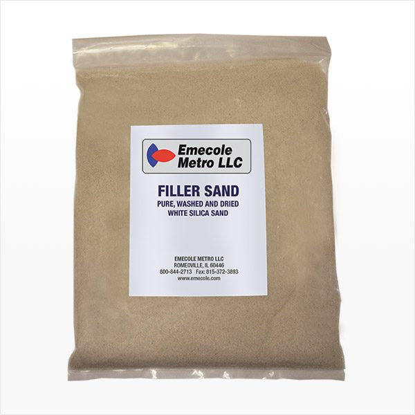 Filler Sand for Repairing Cracks in Concrete Floors and Slabs