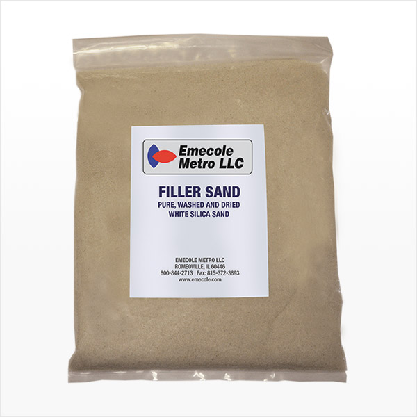 Filler Sand for Repairing Cracks in Concrete Floors and Slabs