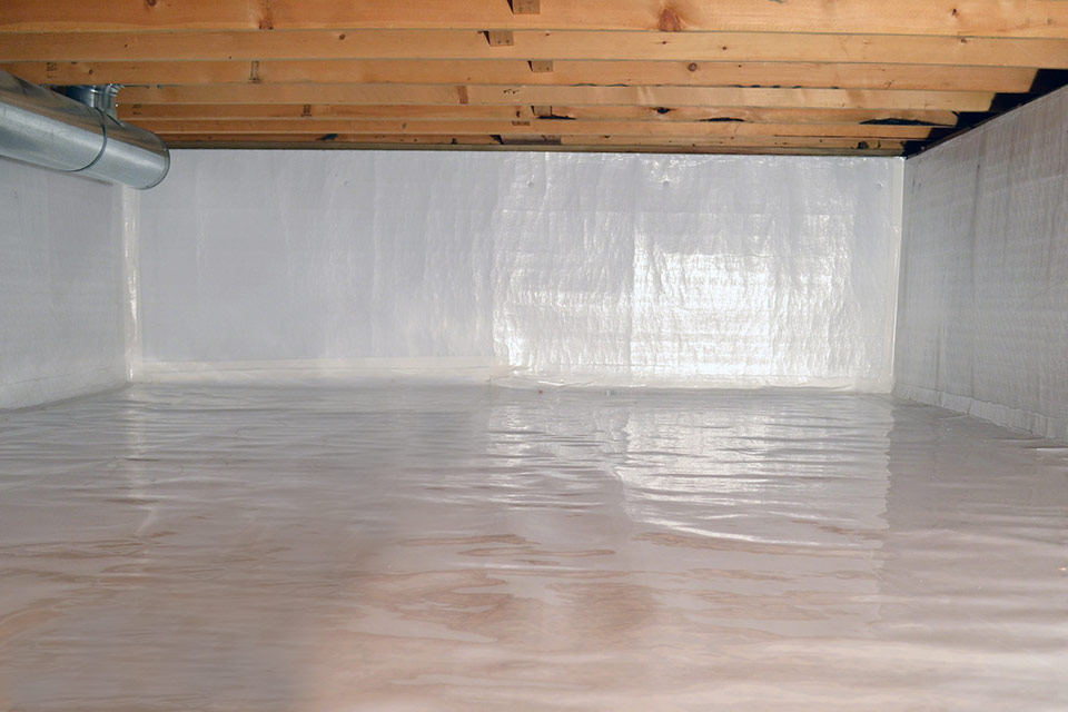 Crawl Space Encapsulation After Installation