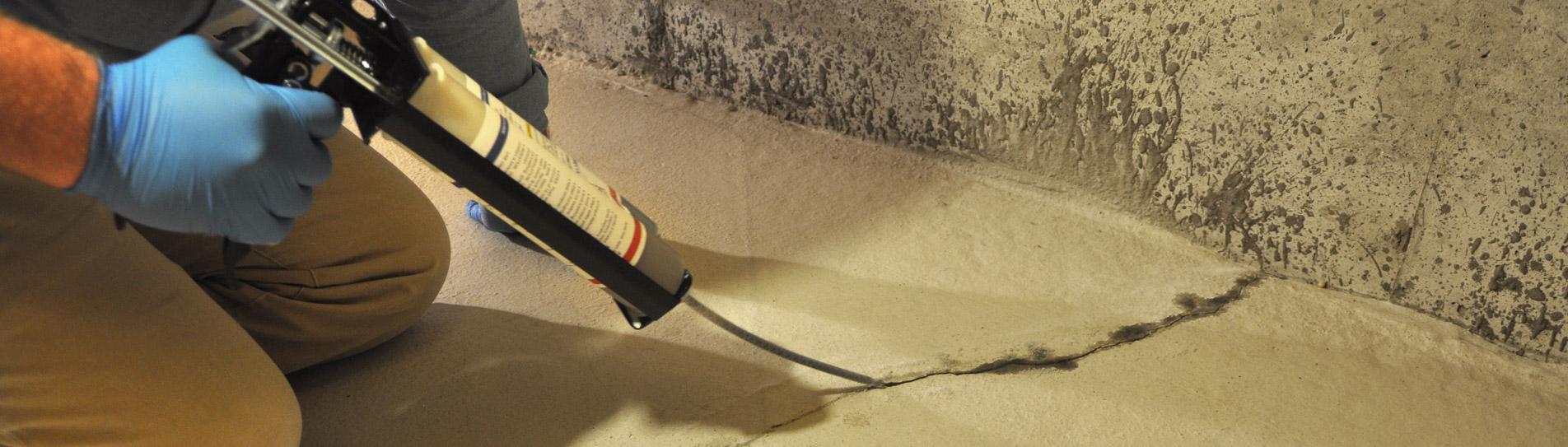 DIY Basement Floor Crack Repair