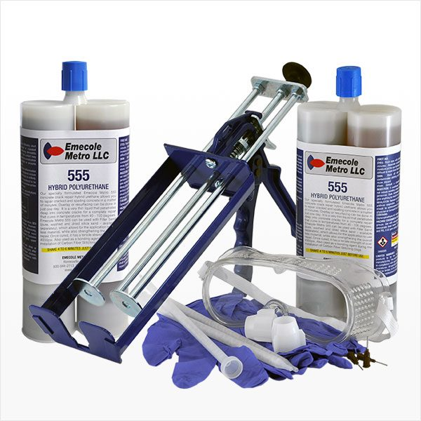 Emecole Metro Large Sized Slab Crack Repair Kit