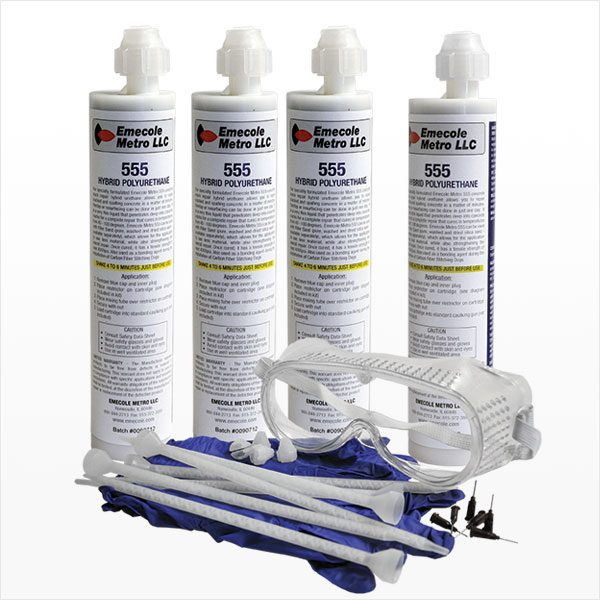 Emecole Metro Medium Sized Slab Crack Repair Kit