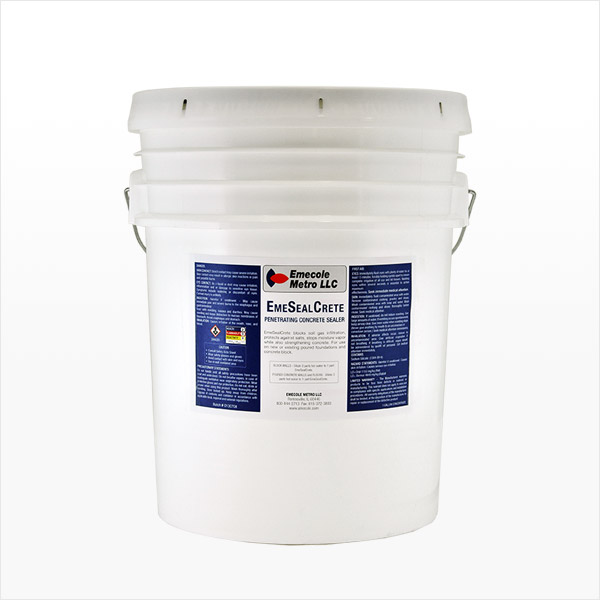 Deep Penetrating Concrete Sealer 5 Gallon
