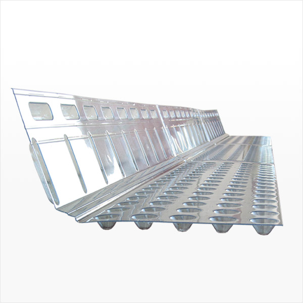 Interior Footing Drain Channel for Concrete Block Foundation