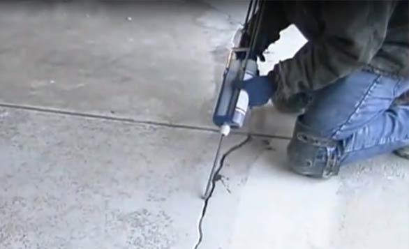 Emecole Metro 555 Concrete Crack Repair Instructions