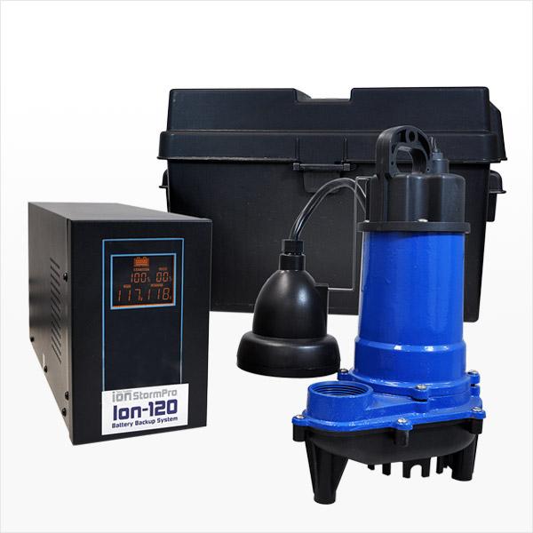 Ion-120i Backup System