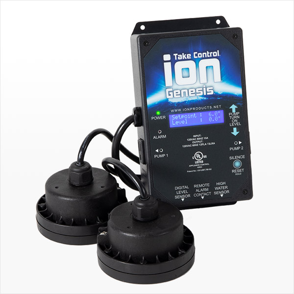 Smart Sump Pump Controller with Digital Sensors