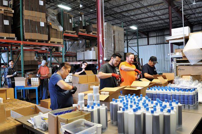 Manufacturing in Romeoville, IL - Emecole Metro LLC