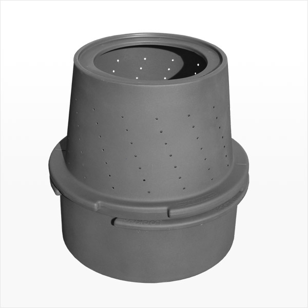 Saber Sump Pit, 44 Gallon Solid, Perforated