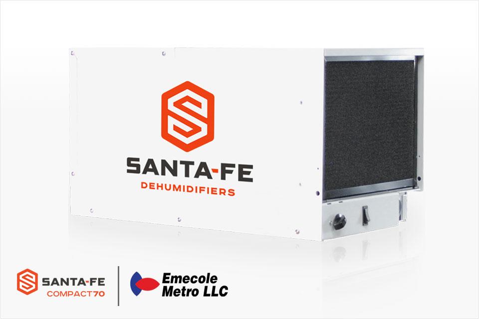 Santa Fe Compact 70 Commercial Grade Dehumidifier