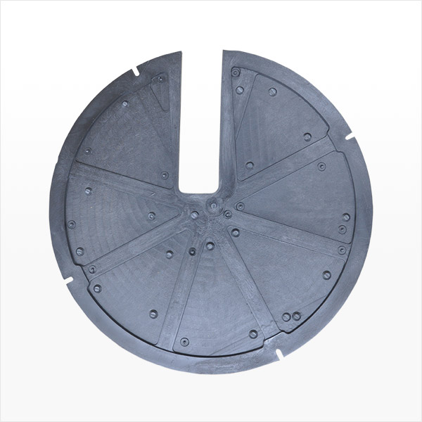 Round Sump Pit Lid, Slotted