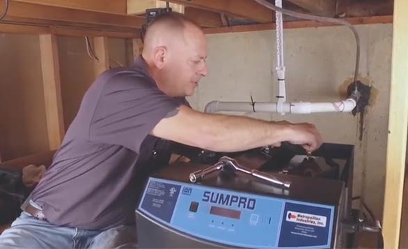 Backup Sump Pump System Battery and Inverter Maintenance for Sumpro