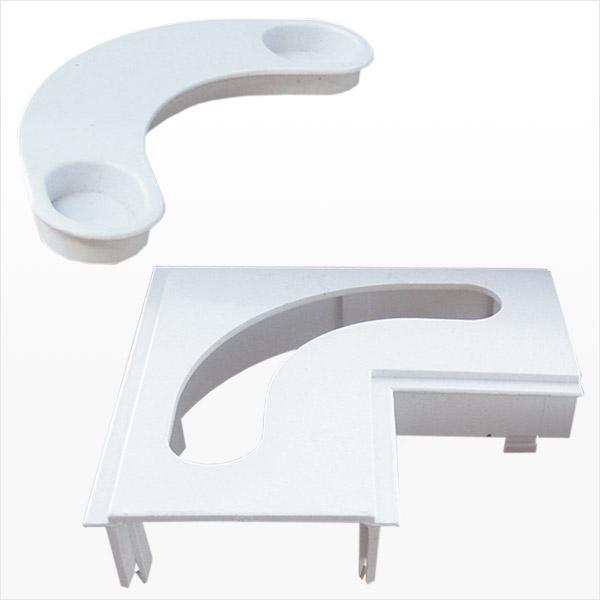 Basement Waterproofing Corner Piece and Plug