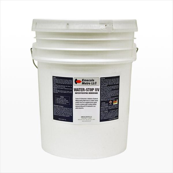 Above Grade UV Resistant Exterior Waterproofing Membrane