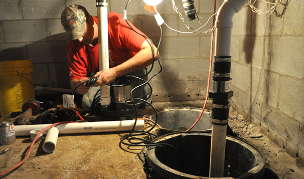 Wet Basement Repair Servicing